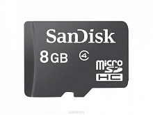 MICRO SDHC 8GB UHS-I W/A (SDSDQUIN-008G-G4)